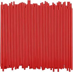 1000 Pc Cocktail Red Coffee Cocktail Sipping Straws Drink Stirrers Mix Bars $7.49