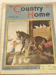 Vintage 1935 The Country Home Magazines Lot Of 3 $12.50
