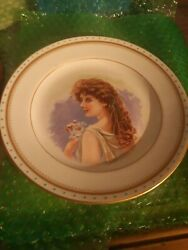 Austrian Beauty Hand Painted Signed JSW $24.88