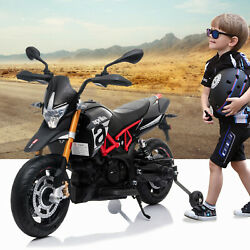 12V Ride On Dirt Bike Kids Electric Off Road Motorcycle Toy w Training Wheels $134.99