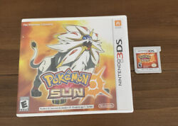 POKÉMON SUN FOR NINTENDO 3DS $22.99