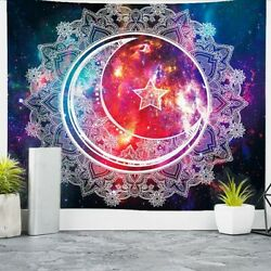 59quot;Celestial Wall Hanging Tapestry Art Decoration Bedroom Living Room Picnic Mat $11.99