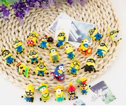 Set of 10 pcs Minions Mini Action Figures Cake Topper Doll cute Toys playsets $4.50