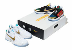 "Nike X Undefeated Kobe V Protro ""What If"" Pack Size 10 US MENS *IN HAND $699.00"