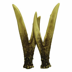 River#x27;s Edge Products Decorative Antler Letter W Rustic Wall Mounted Decor $6.98