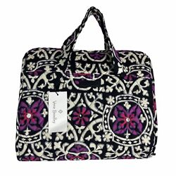 Vera Bradley Hanging Organizer Scroll Medallion Black Travel NWT $30.00