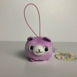 AMUSE Tsumikko Alpacasso Purple Girl Screen Cleaner 8cm Alpaca Plush Japan NWT $8.00