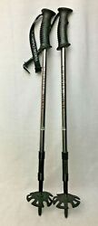 Yukon Charlies Adjustable Hiking Trekking Poles Snowshoe Trail Walking 30quot; 55quot; $16.95