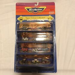 VINTAGE MICRO MACHINES SUPER DELUXE COLLECTION 12 PACK new 1989 $249.99