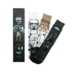 New with tags Star Wars Stance Socks Rogue One Gift Pack 3 Pairs Lg Rare $29.99