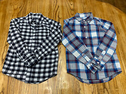 LOT OF TWO Childrens Place Boys Dress Shirts Size 5 6 Excellent Condition $15.00