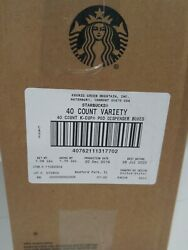 40 COUNT KEURIG K CUPS STARBUCKS COFFEE VARIETY PACK $20.00
