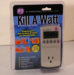 P3 International Kill A Watt Electricity Usage Monitor Model #P4400 $29.99