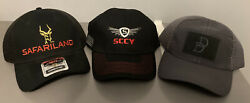 Tactical Shooting Hat Lot 3 hats Safariland DD SCCY $24.99