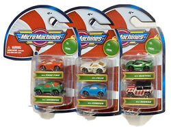Micro Machines Candy Cane Holiday Christmas Cars 3 Two Packs 6 Total Cars 2020 $19.95