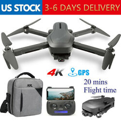Holy Stone HS470 Drone with 4K HD 2 Axis Gimbal Camera GPS Quadcopter Brushless $159.99
