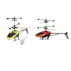 2Pcs Mini Flying Ball RC Toys Electronic Induction Helicopter Outdoor Game $18.04