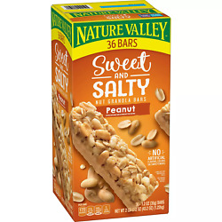 Nature Valley Sweet and Salty Nut Granola Bars Peanut Snack Bars 36 ct. $15.50