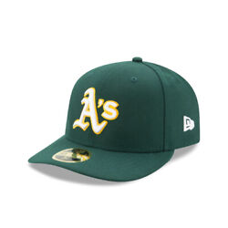 Oakland Athletics New Era MLB On Field Low Profile Road 59FIFTY Fitted Hat Green $24.99