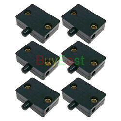 6 Sets Cabinet Wardrobe Door Touch Lamp Switch DC12V 24V AC100 250V 1A BK $12.50