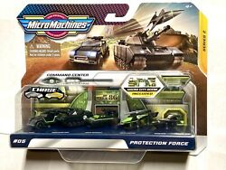 2020 Micro Machines Series 2 #06 quot;PROTECTION FORCEquot; Micro City Scene Ships Free $25.00