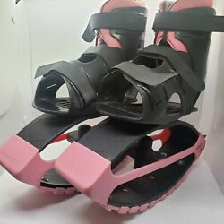 PINK Madd Gear Boosters Kangaroo Jumping Shoes Bounce Boots Ages 5 up to 88 lbs $34.99