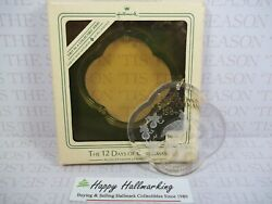 Hallmark 1984 Twelve 12 Days of Christmas 1st Partridge Acrylic Ornament $95.00