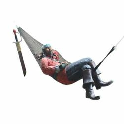 Pirate Hanging in Hammock Life Size Statue $1125.85
