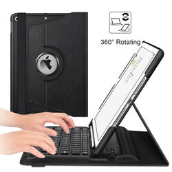 360 Rotating Wireless Bluetooth Keyboard Case Cover For iPad 8th Gen 10.2quot; 2020 $27.99