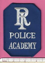 State of RI Rhode Island Police Academy Law Enforcement Shoulder Patch $4.99