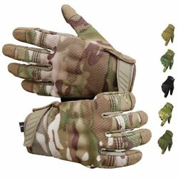 Riding Gloves Cycling Bike Full Finger Screen Touch Outdoor Sports Tactical Glov $19.13