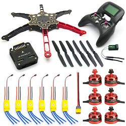 Q450 Hexacopter Drone Kit F3 Flight Controller 2205 Motors 30A ESCs with Radio $195.95