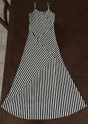 Summer Dress Stripe Women Size S $12.00