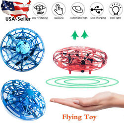 Flying Ball Mini UFO Drone Rc Toys Hand Controlled Helicopter Toy Fly Drone USA. $14.58