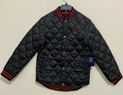 Polo Ralph Lauren Big Boys Water Resistant Quilted Baseball Jacket $55.00