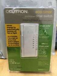 Lutron Maestro ECO Timer Countdown Timer Switch MA T530GH