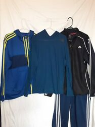 Adidas Mens Lot of 4 largeamp; xl $55.00