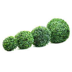 Lifelike Artificial Plant Ball Topiary Tree Boxwood Home Outdoor Party Decor All $13.97