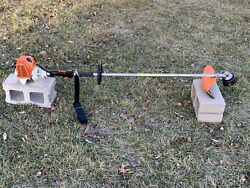 Stihl FS90R Commercial String Trimmer Weedeater NICE 28cc Unit Ships FAST