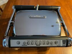 All Clad Electric Indoor Grill with AutoSense™ BUY IT NOW or MAKE AN OFFER $319.00