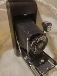 Kodak 1A Pocket Camera Antiquewith Leather and strap. Not tested. quot;As Isquot; $40.00
