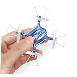 Mini Drones for Kids or Adults RC Drone Helicopter Toy Easy Indoor Small Blue $51.51
