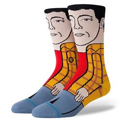 New with tags Stance Socks quot;Happy Happyquot; Happy Gilmore L 9 12 Golf Movies $11.99