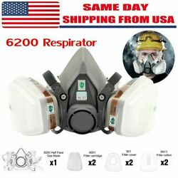 Special offer 7 in 1 Gas Mask Spray Paint 6200 Respirator Safety USA $13.99
