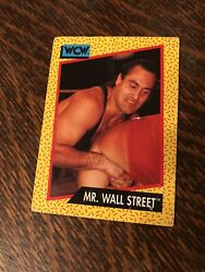 1991 Mr. Wall Street WCW Impel Trading Card World Champion Wrestling $5.40