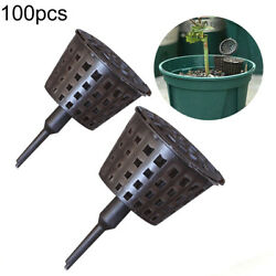 100Pcs Set Bonsai Garden Tool Fertilizer Baskets Box Supplies Cover Plant Growt C $25.03