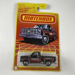 1975 Chevy Stepside Pickup Matchbox 2020 Retro Series Target Exclusive $1.50