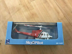 New SkyPilot DieCast Helicopter 1 115 Bell 412 LAFD Red $19.99