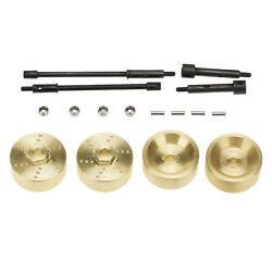 4x RC Axles Brass Weights for 1:24 Axial SCX24 AXI90081 Car Upgrade Parts $16.07