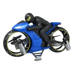 10X Remote Control Helicopter RC Flying Motorcycle Aircraft Mini Quadcopter $217.99